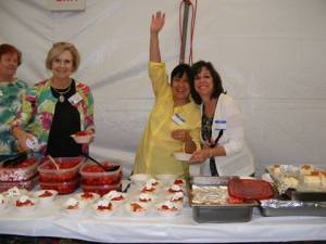 Connie MaryAnn Debbie and Susie and all the strawberry shortcake