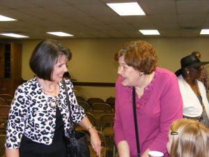 Theresa, Susan and Audrey